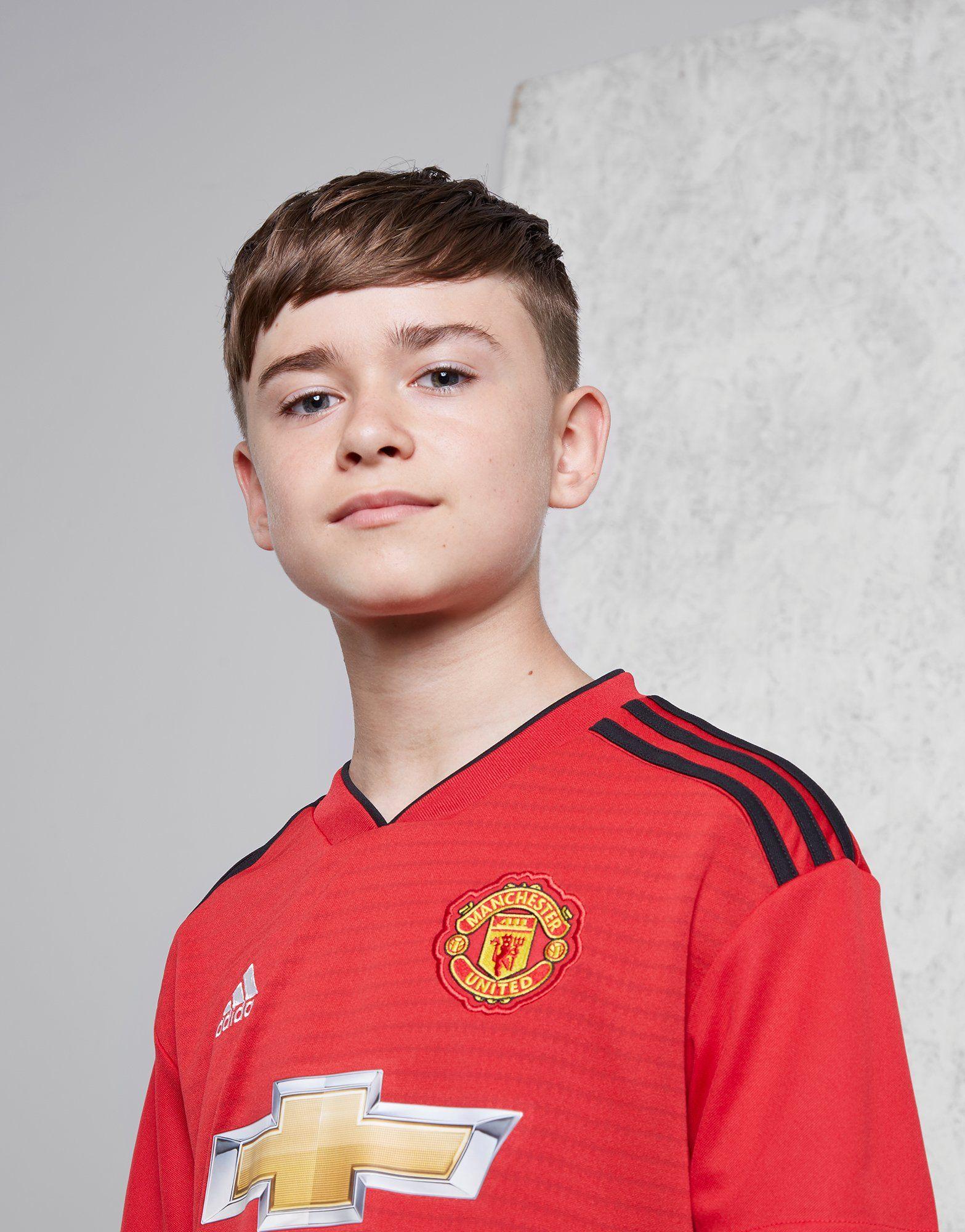 adidas Manchester United FC 2018/19 Hemmatröja Junior