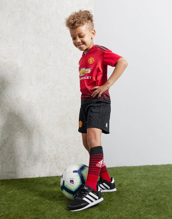 adidas 1.ª equipación Manchester United FC 2018 19 infantil  eaeb5ed4debb2