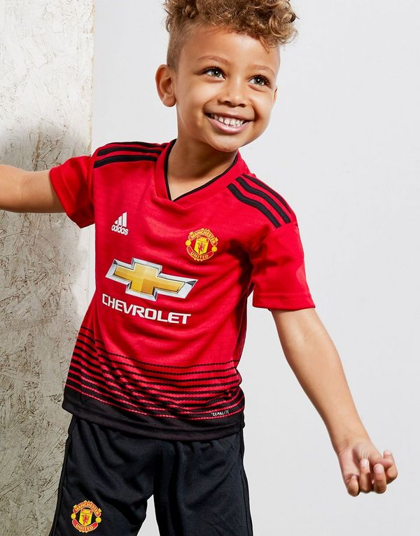 77a4ed407 adidas Manchester United FC 2018 19 Home Kit Children