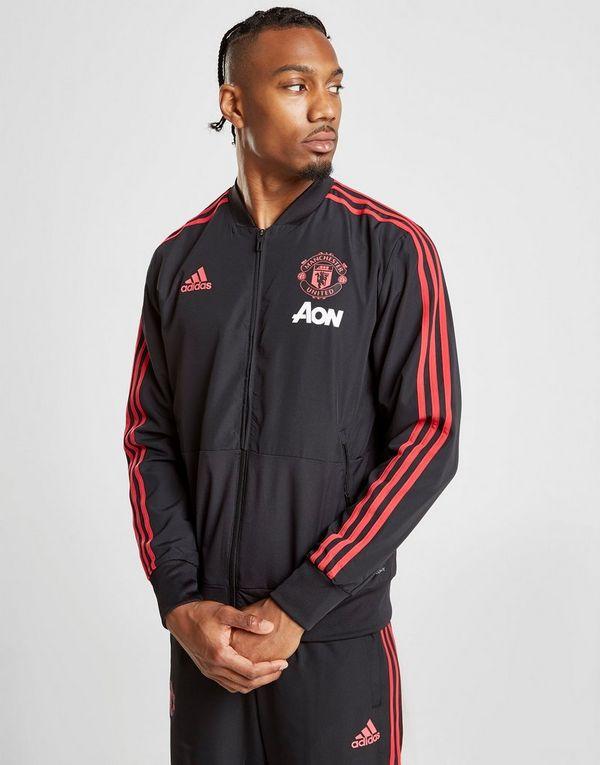 f0c8e1e09f582 adidas Manchester United FC Presentation Jacket | JD Sports Ireland