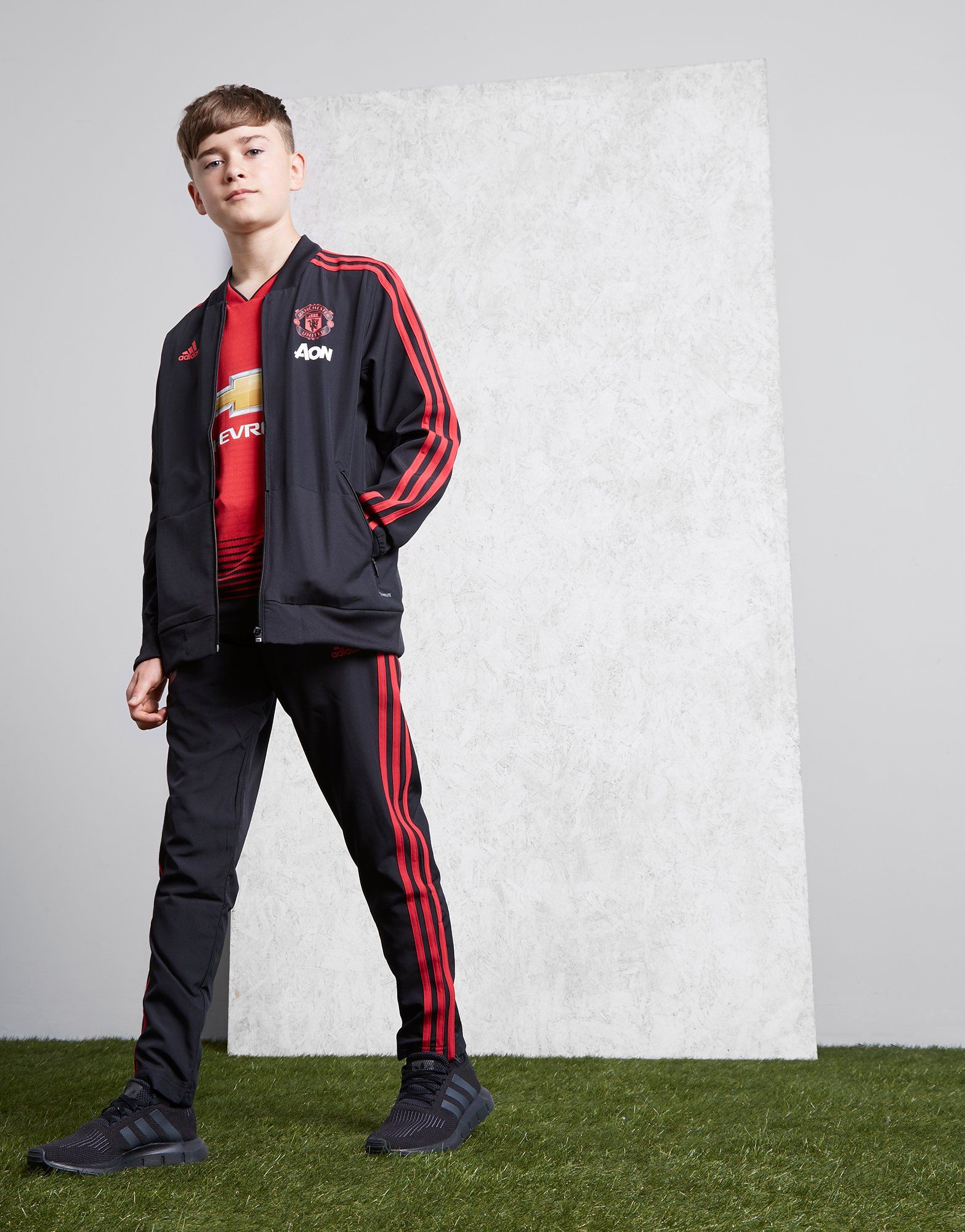 adidas Pantalon de survêtement Manchester United FC Junior