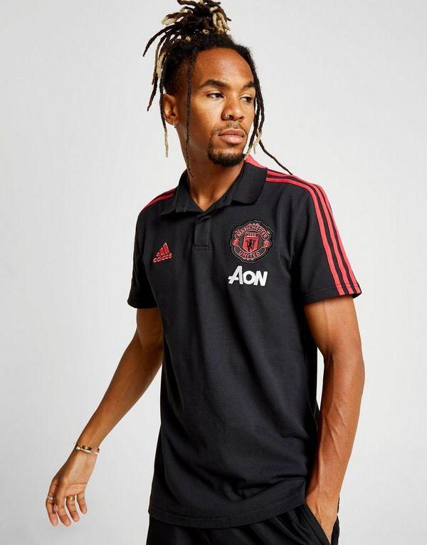 1c402f6ea0 adidas Manchester United FC 2018 19 Polo Shirt