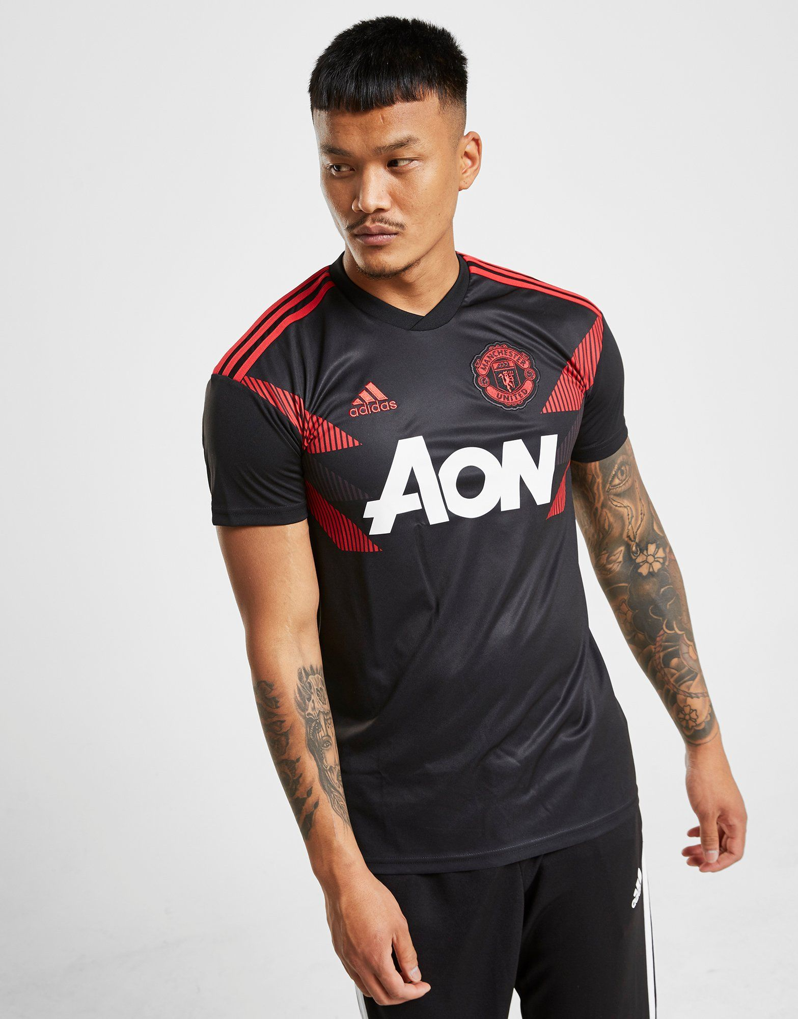 adidas Manchester United FC Pre-Match Shirt