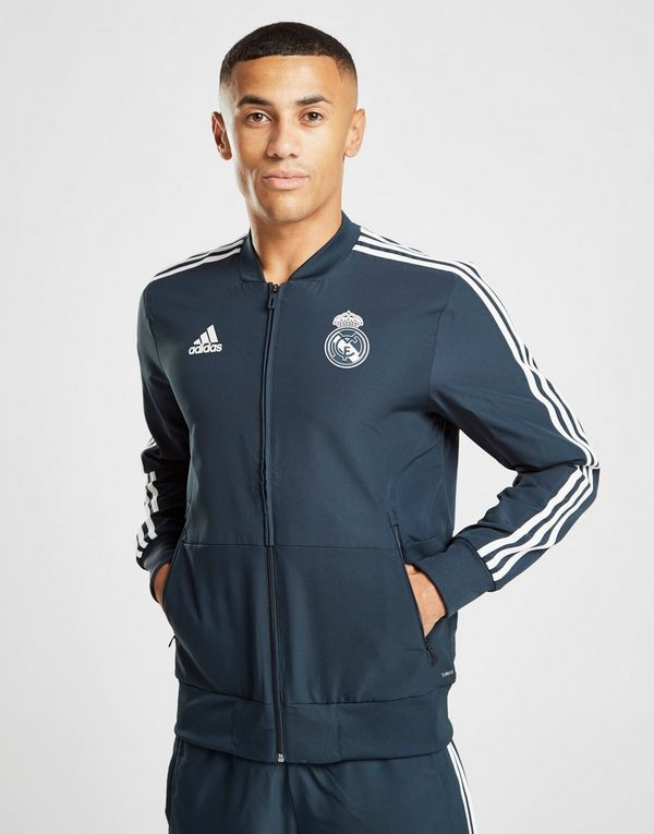 adidas Real Madrid Presentation Jacket  d76946e5b