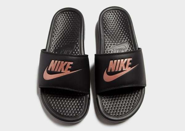 finest selection 6c372 91e81 Nike Benassi Just Do it Slides Womens