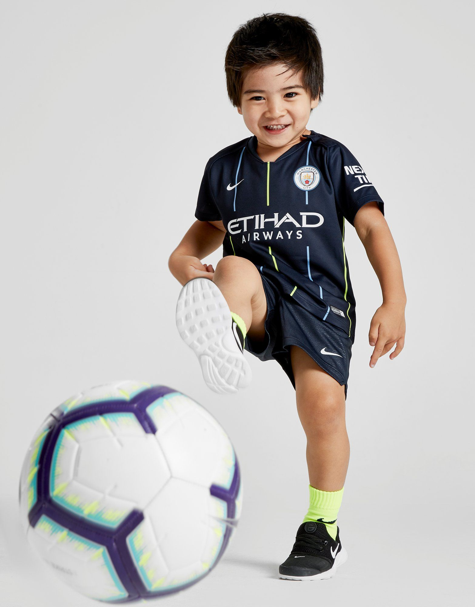 f250f902c0 NIKE 2018 19 Manchester City FC Stadium Away Baby and Toddler Football Kit