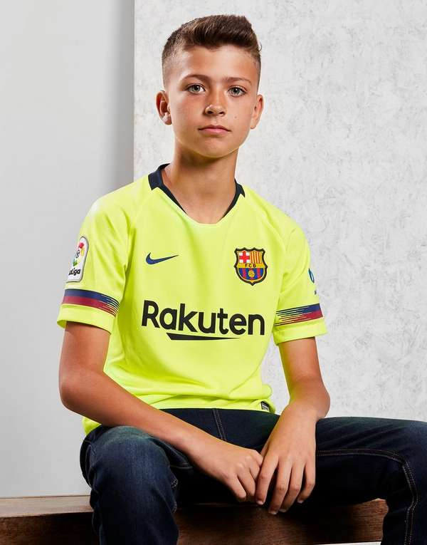 Nike FC Barcelona 2018 19 Away Shirt Junior  586c1cec9a5f6