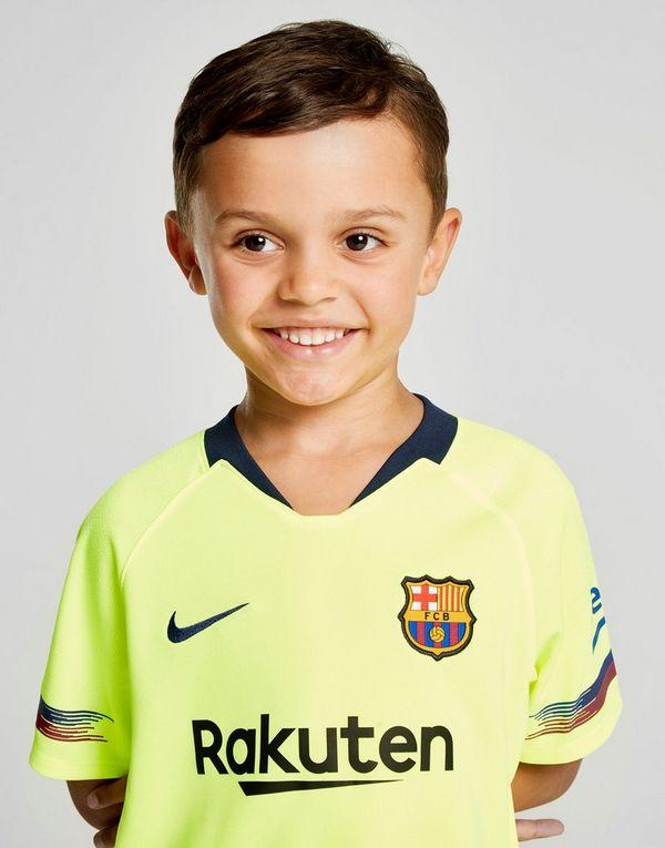 Nike conjunto FC Barcelona 2018 19 2.ª equipación infantil  5d4cdf20001