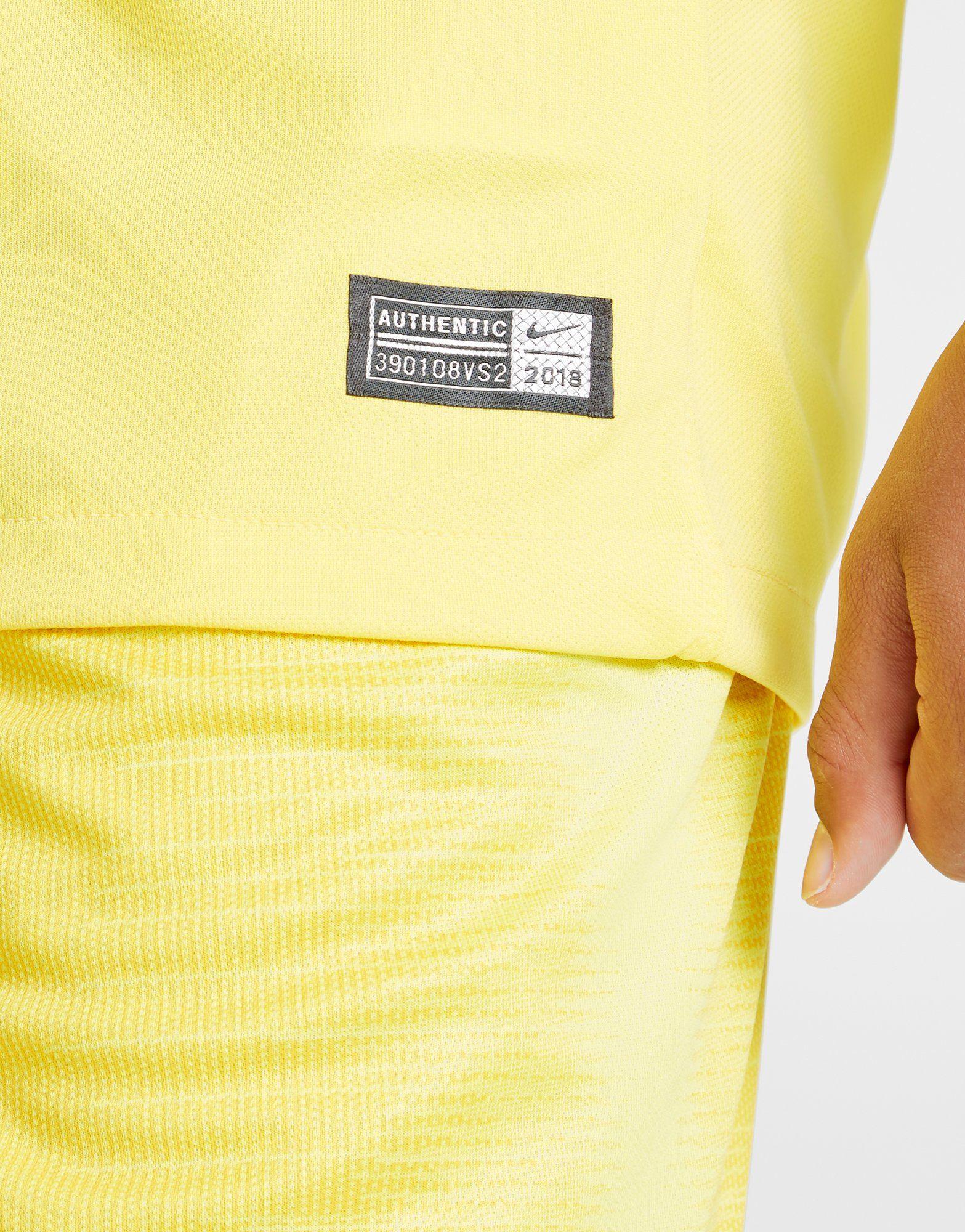 Nike camiseta 2.ª equipación Chelsea FC 2018/19 júnior