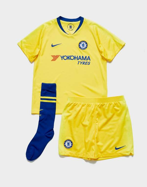 3712afb34 Nike Chelsea FC 2018 19 Away Kit Children