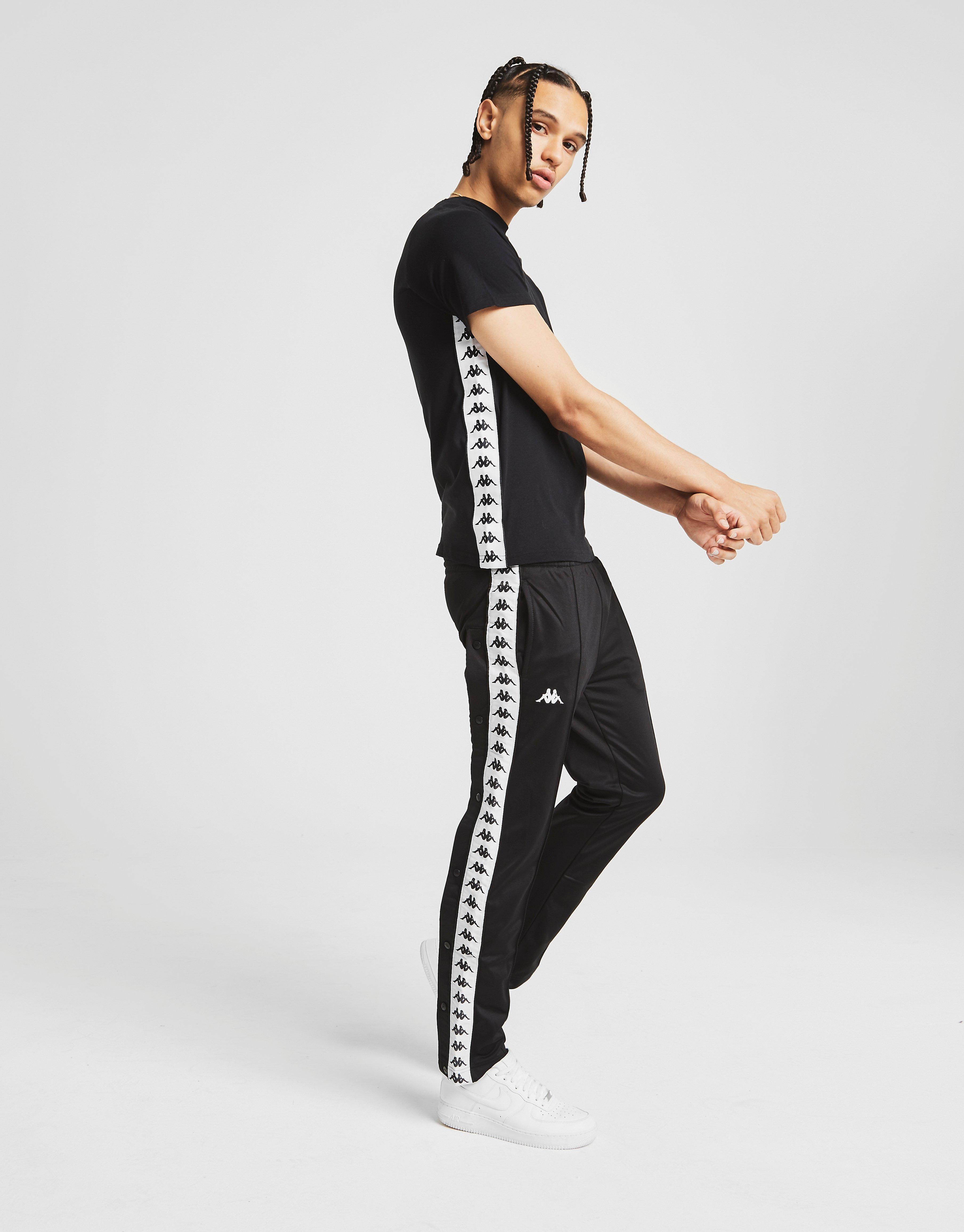Detalles de Nuevo Para hombres Kappa Astoria Popper Gimnasio Pantalones de pista ver título original