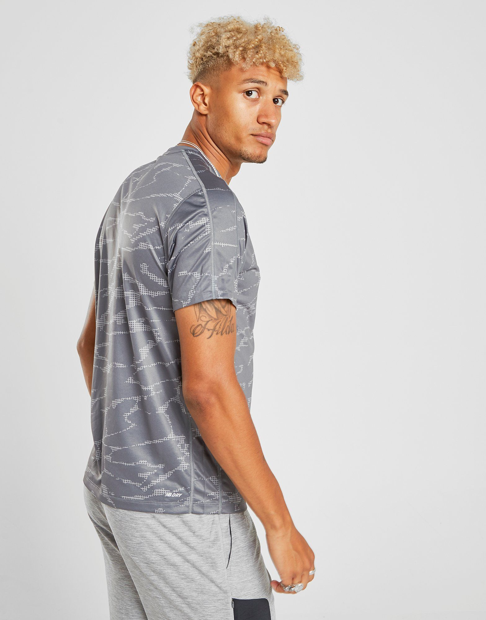 New Balance camiseta Accelerate All Over Print