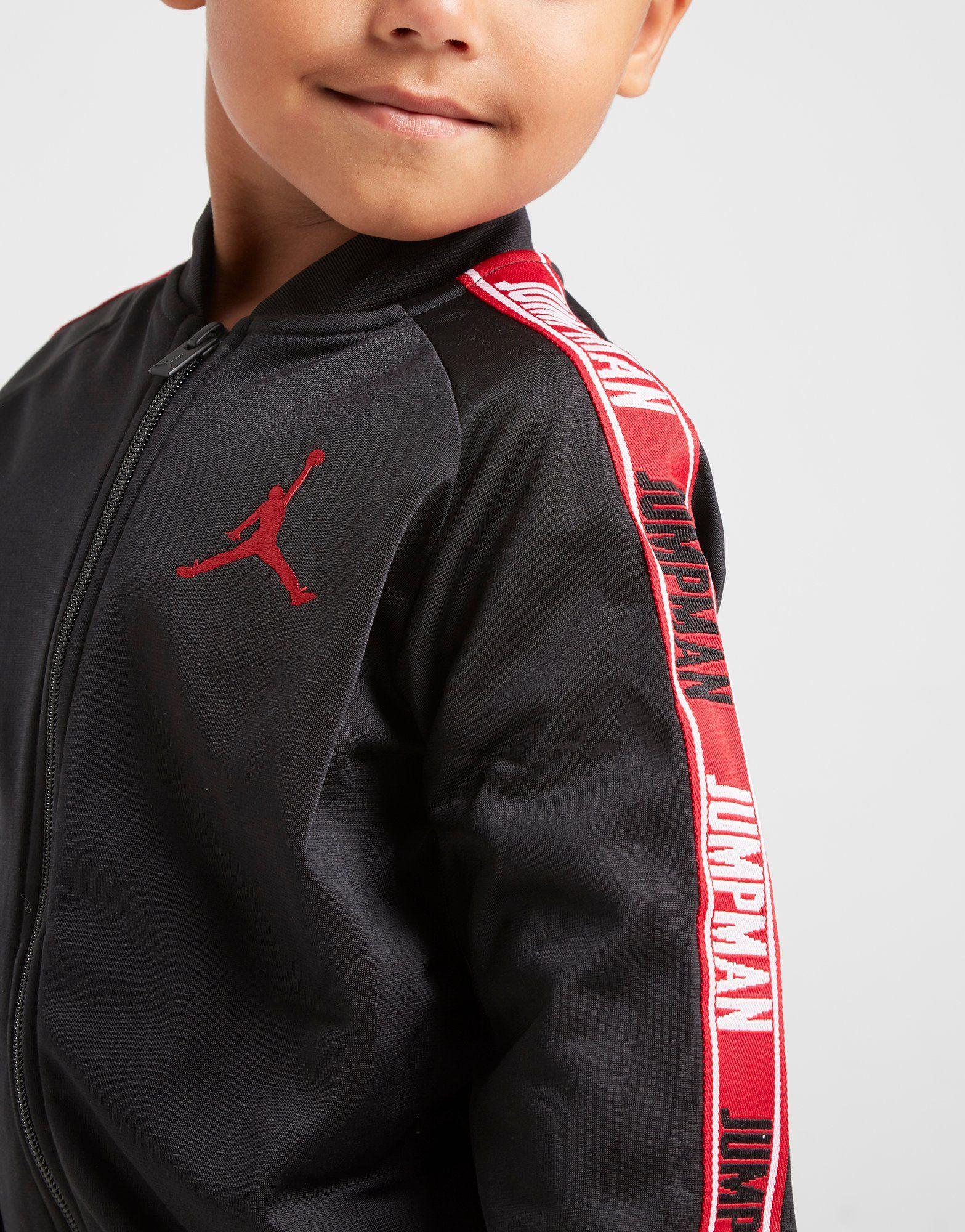 Jordan Jumpman Tape Legacy Poly Tracksuit Children