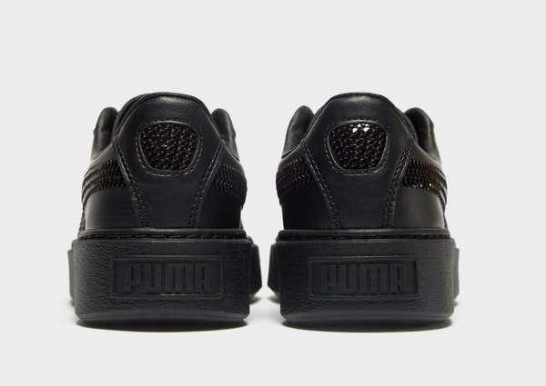 56091e2f04d0 PUMA Basket Platform Bling Junior