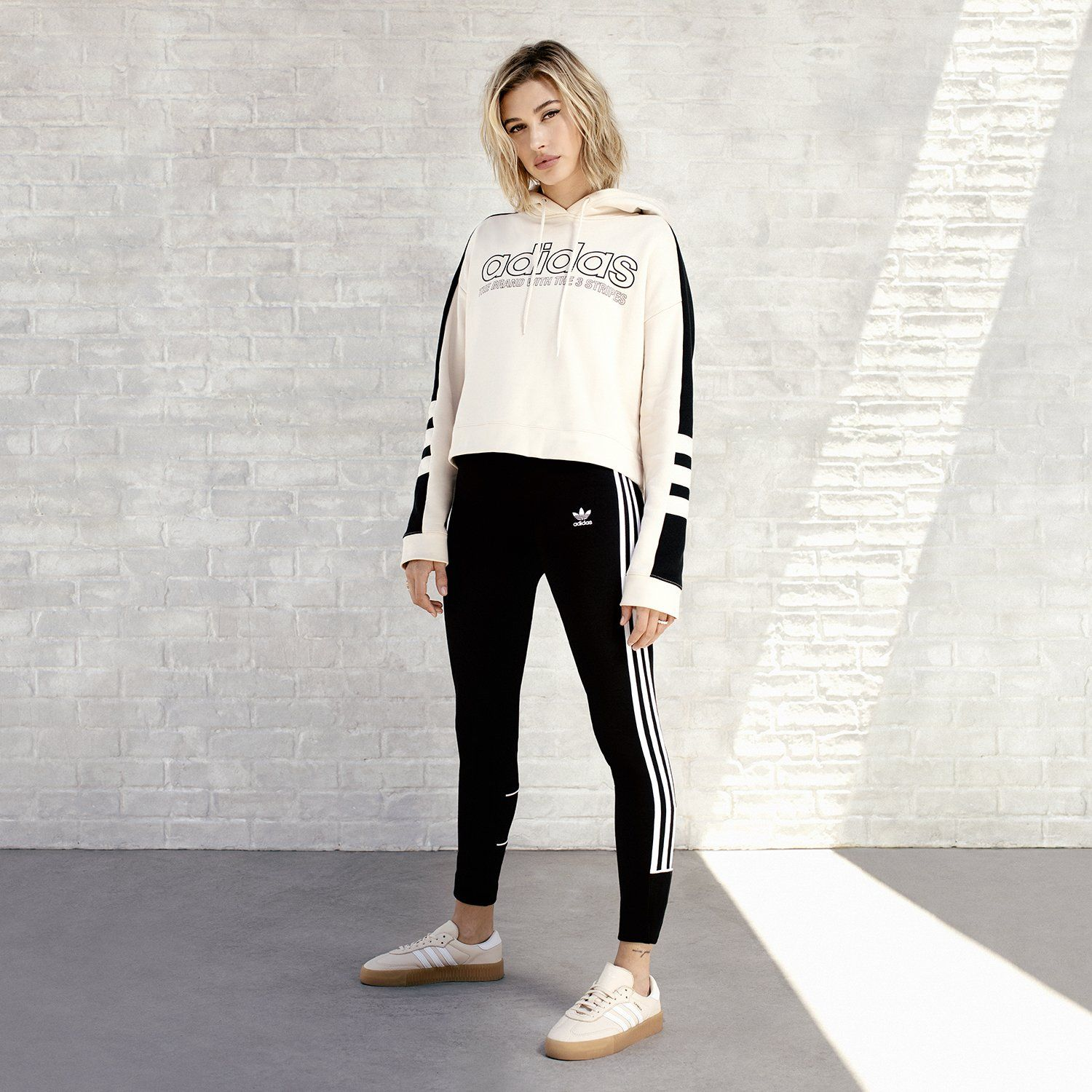 adidas Originals Sweat à capuche Linear Femme