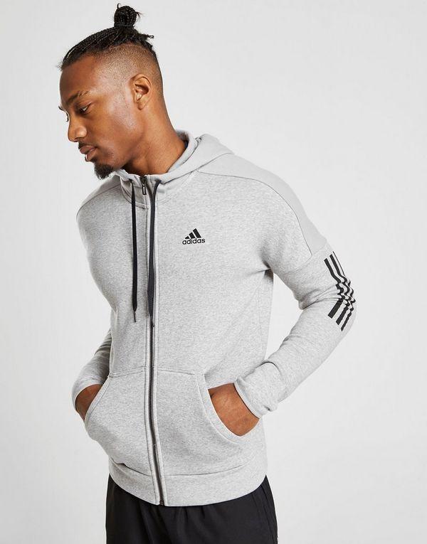 Grijze Hoodie Heren.Adidas Sport Id Full Zip Hoodie Heren Jd Sports