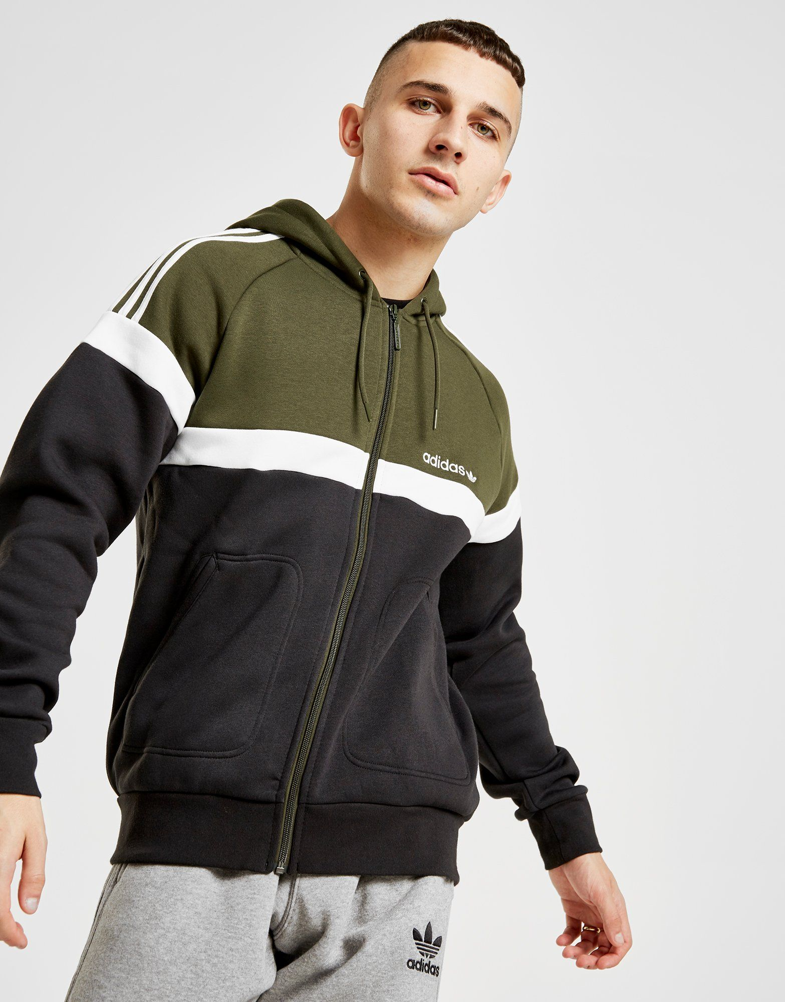 Adidas Originals Itasca Full Zip Hoodie Jd Sports