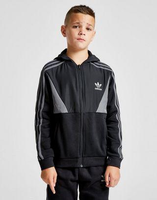 adidas originals veste fleece noir