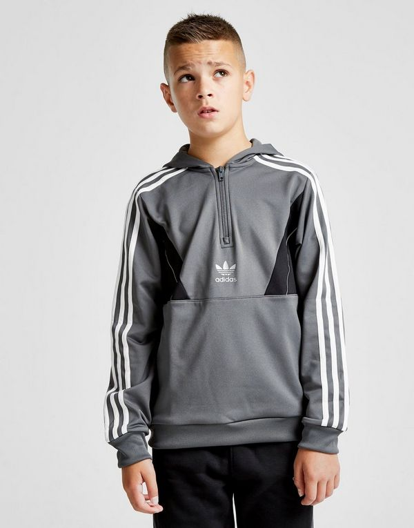 7d0f45f9b37d adidas Originals Speed Poly 1 2 Zip Hoodie Junior