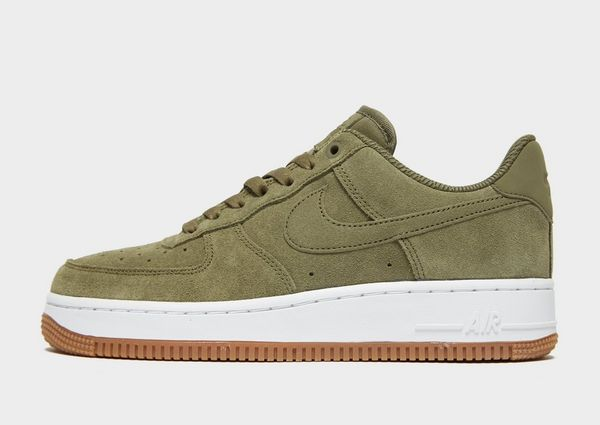 info for 127ea 12d1f Nike Air Force 1  07 SE Suede Women s