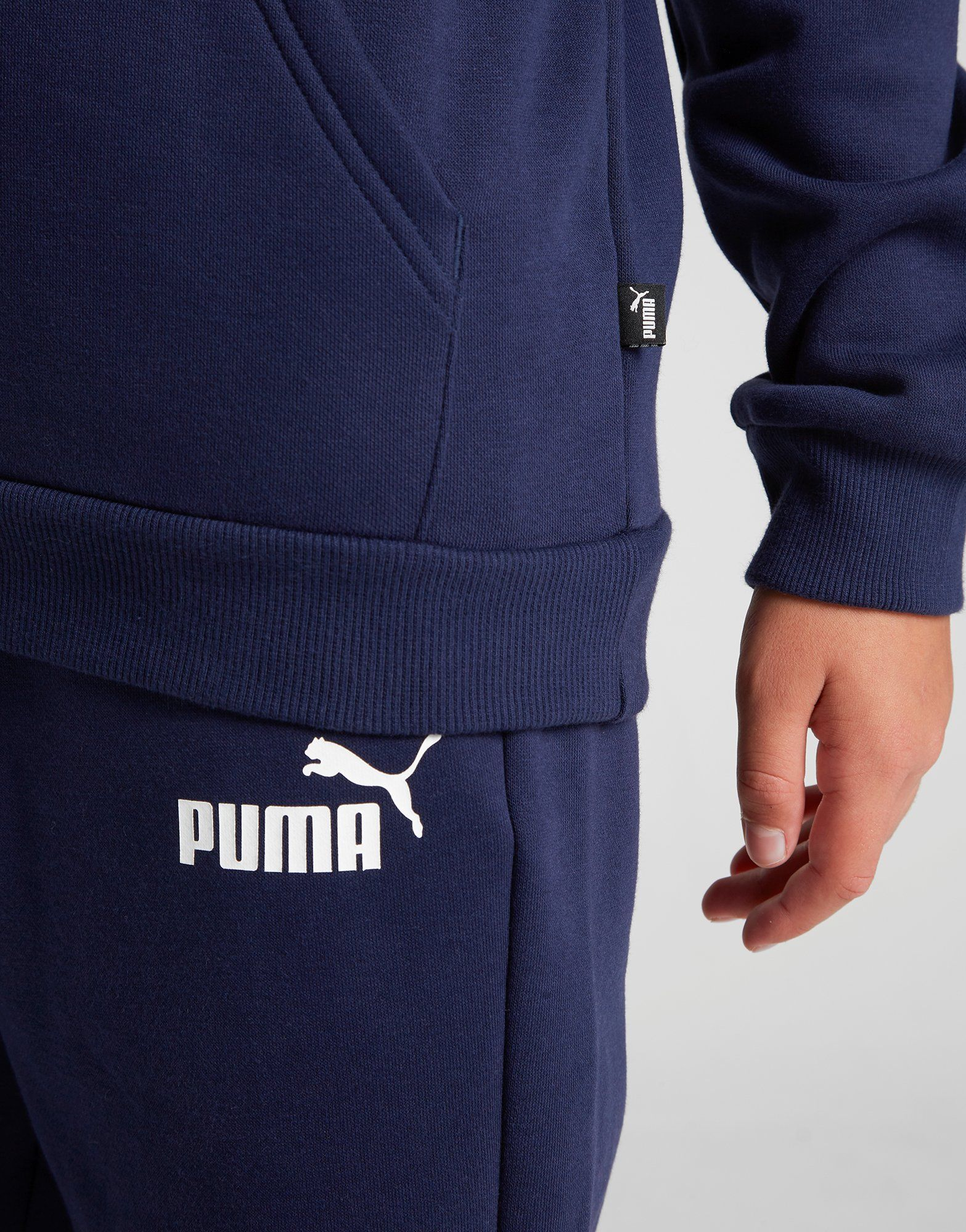 PUMA Sweat à capuche Core Logo Junior