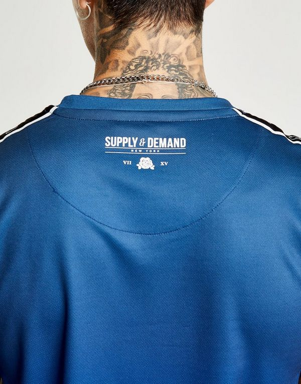Supply demand script tape fade t shirt jd sports for T shirt on demand