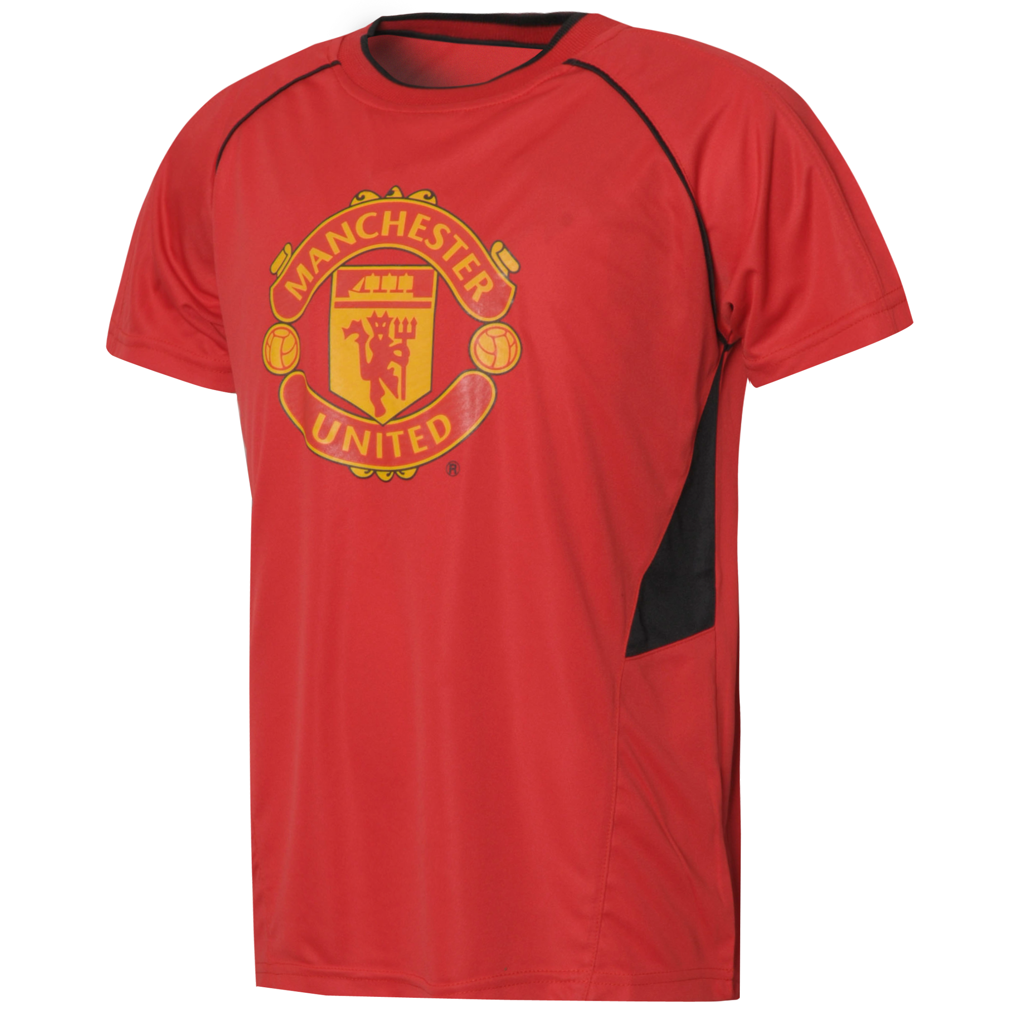 Official Team Manchester United Poly T-Shirt