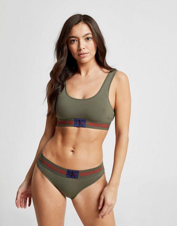 6b3a65da534 Calvin Klein Underwear Monogram Bralette | JD Sports Ireland