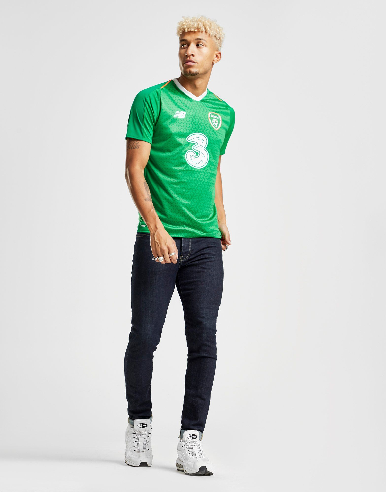 New Balance Republic of Ireland 2018/19 Home Shirt