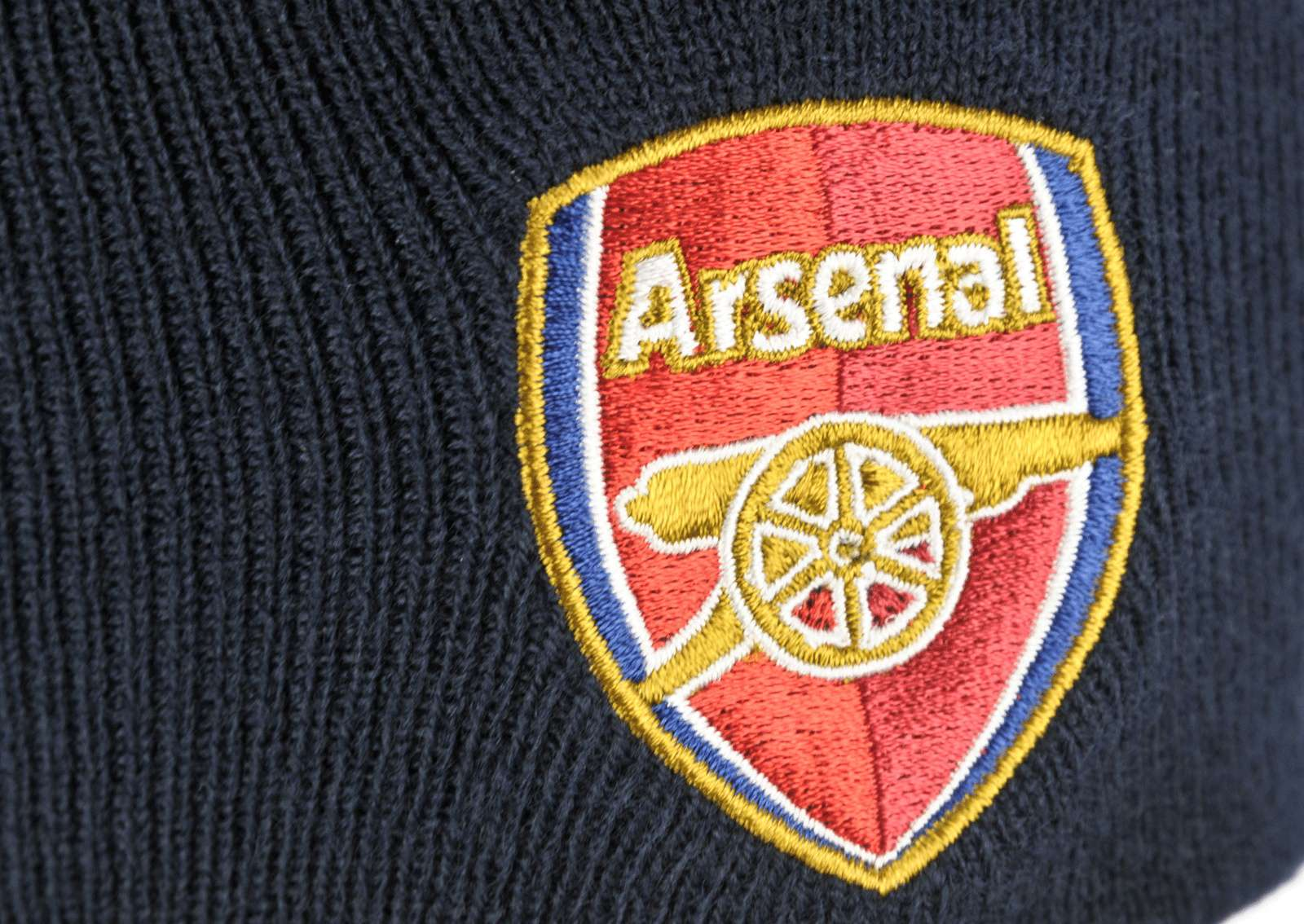 Official Team Arsenal Knitted Hat