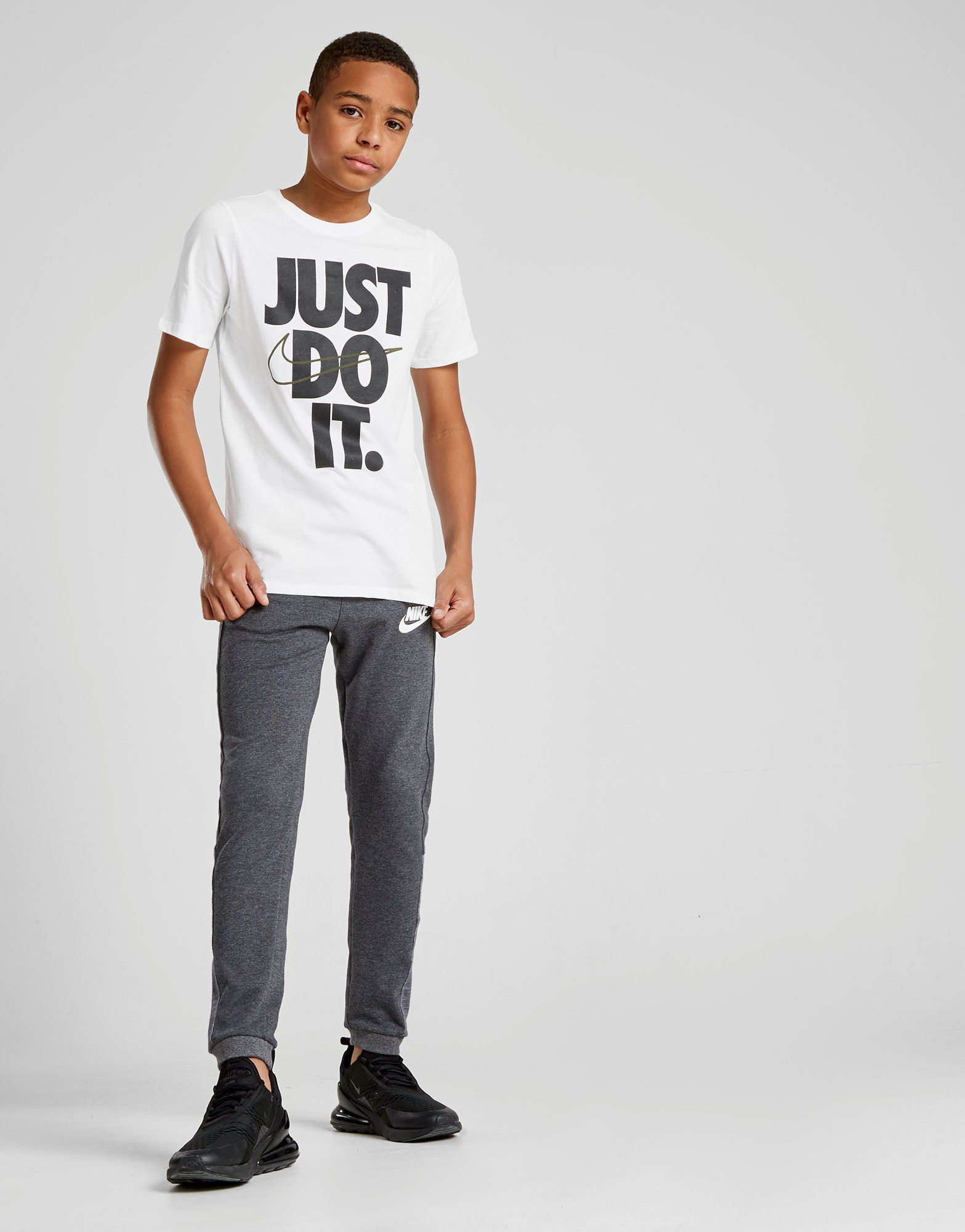Nike Just Do It Logo T-Shirt Junior