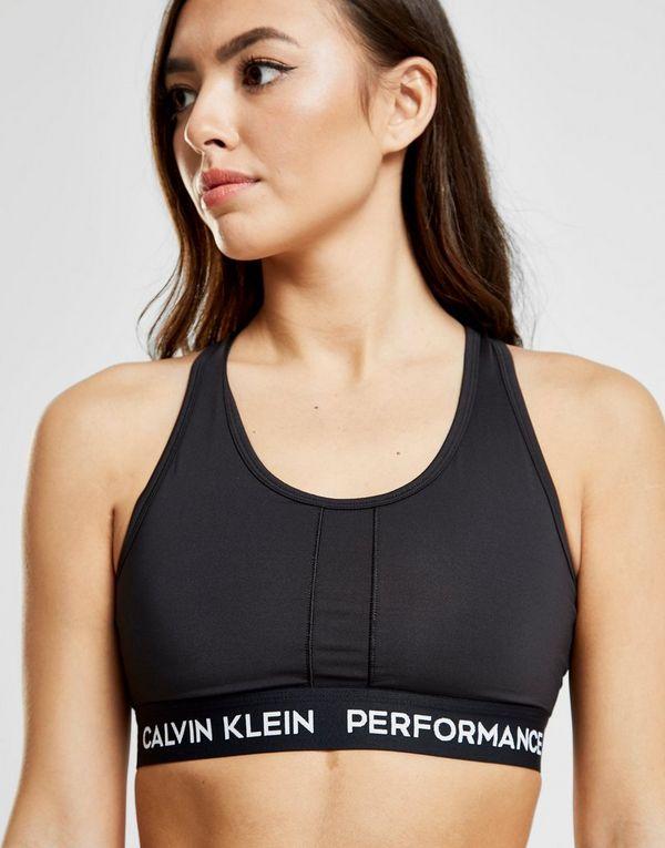 100c2f7651 Calvin Klein Performance Panel High Support Bra