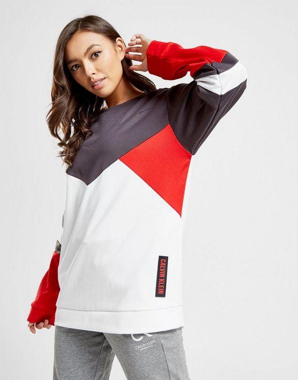 33c07ad28f Calvin Klein Performance Colour Block Crew Sweatshirt