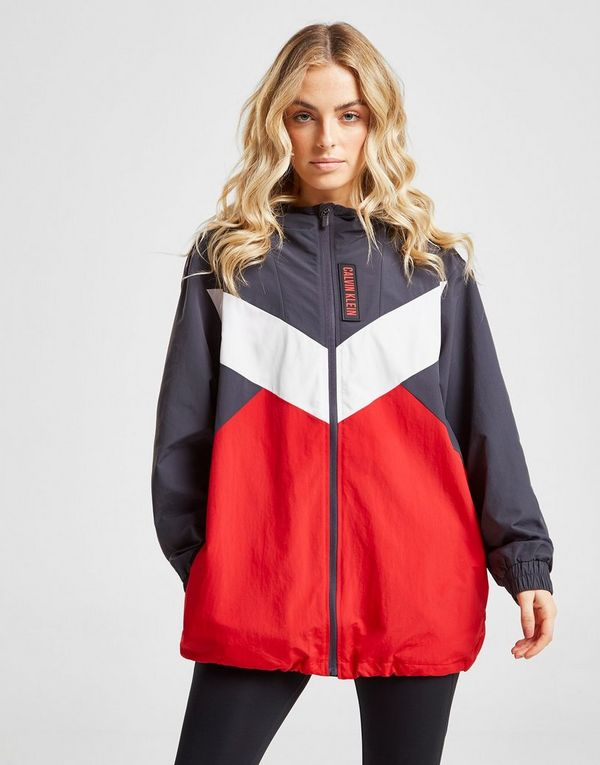 535c6922bfd4 Calvin Klein Performance Colour Block Woven Jacket
