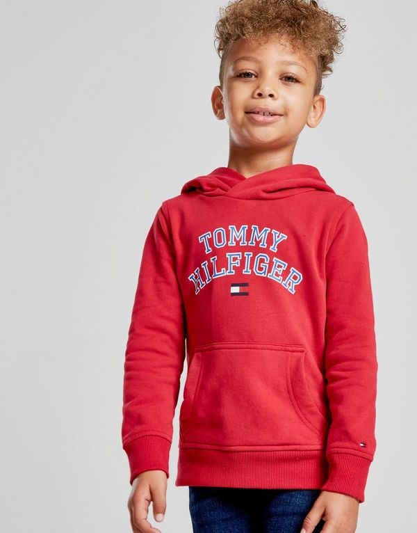 a3c2b9317cb1 Tommy Hilfiger Essential Logo Overhead Hoodie Children | JD Sports ...
