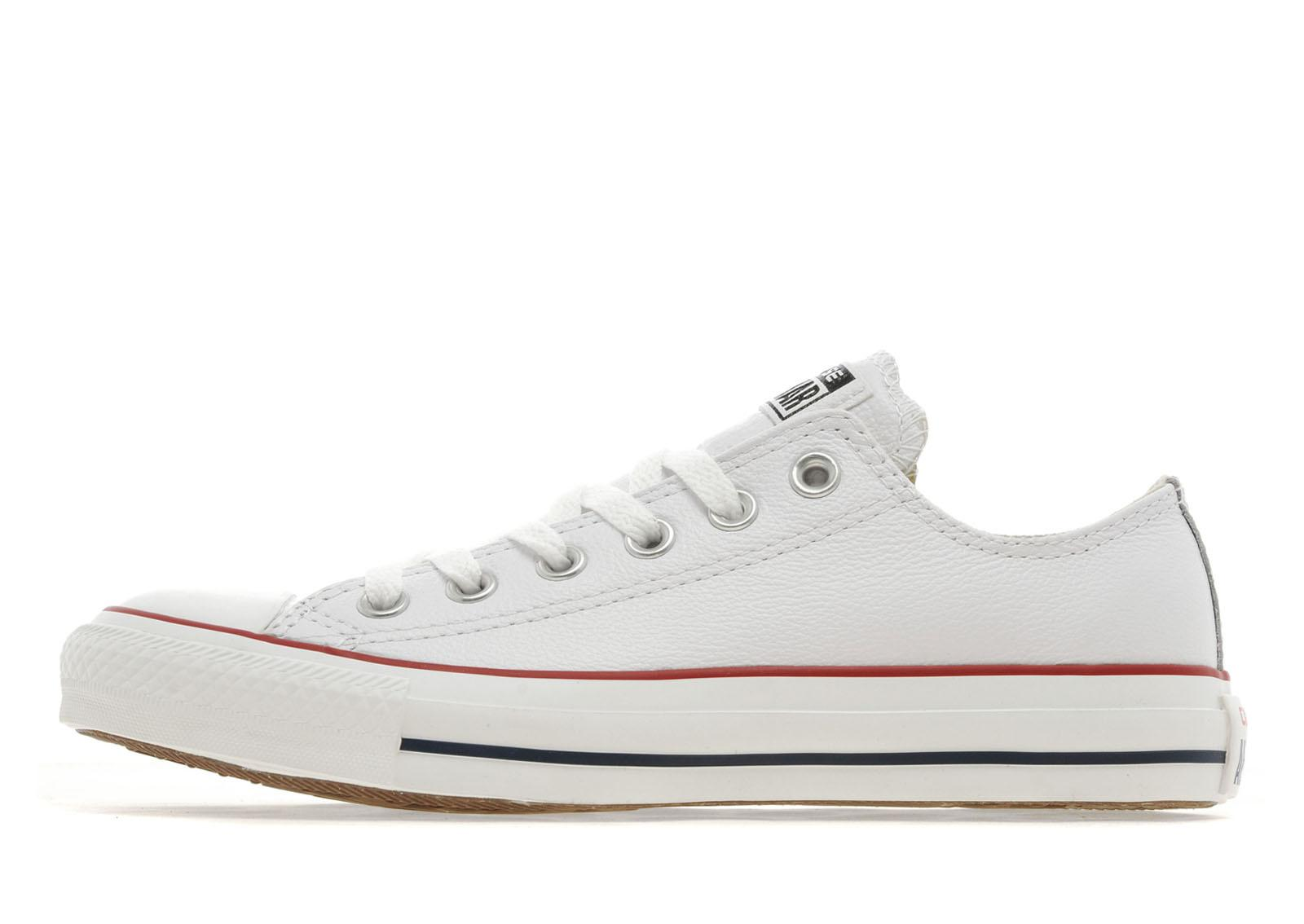 womens white leather converse jd