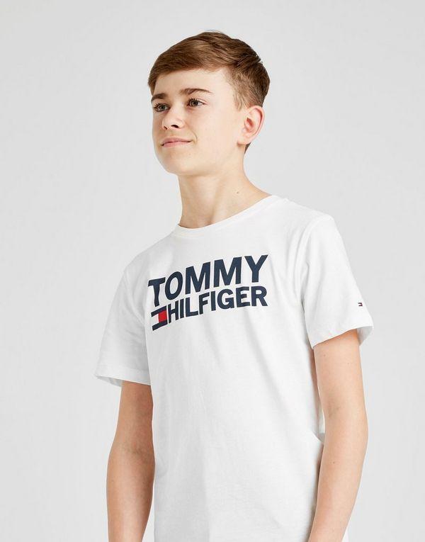 04d908286b4a8 Tommy Hilfiger Flag Logo T-Shirt Junior