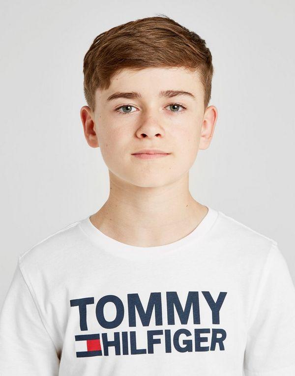 b5307306 Tommy Hilfiger Flag Logo T-Shirt Junior | JD Sports Ireland