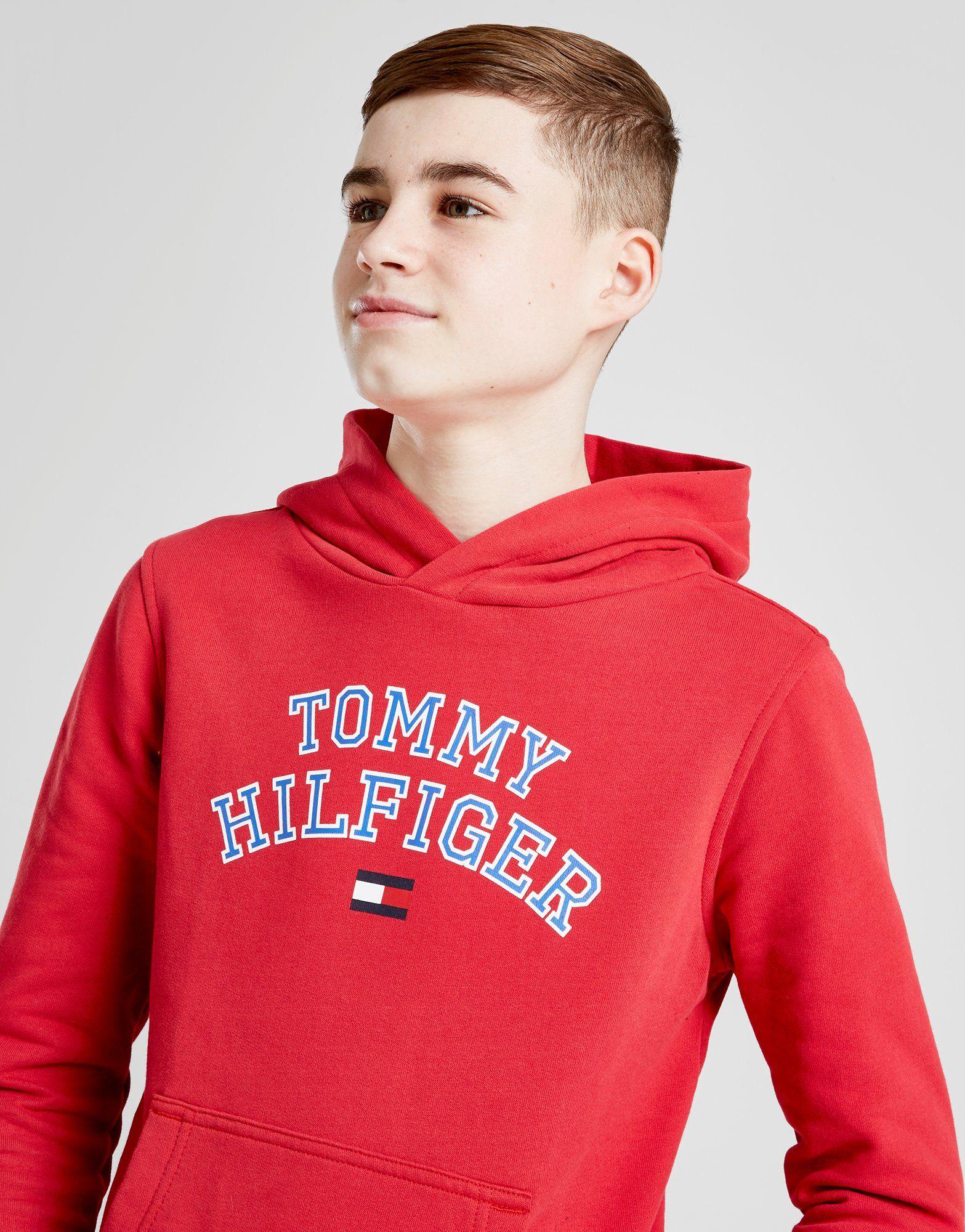 Tommy Hilfiger Logo Hoodie Junior
