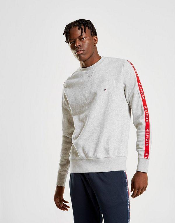 Tommy Hilfiger Sleeve Tape Crew Sweatshirt   JD Sports 0c169fac2f