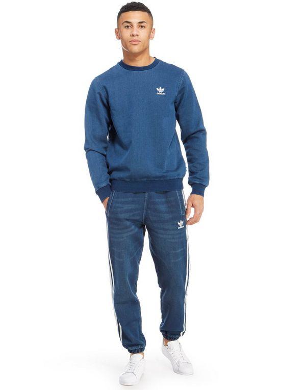 adidas Originals Fleece Denim Sweatshirt