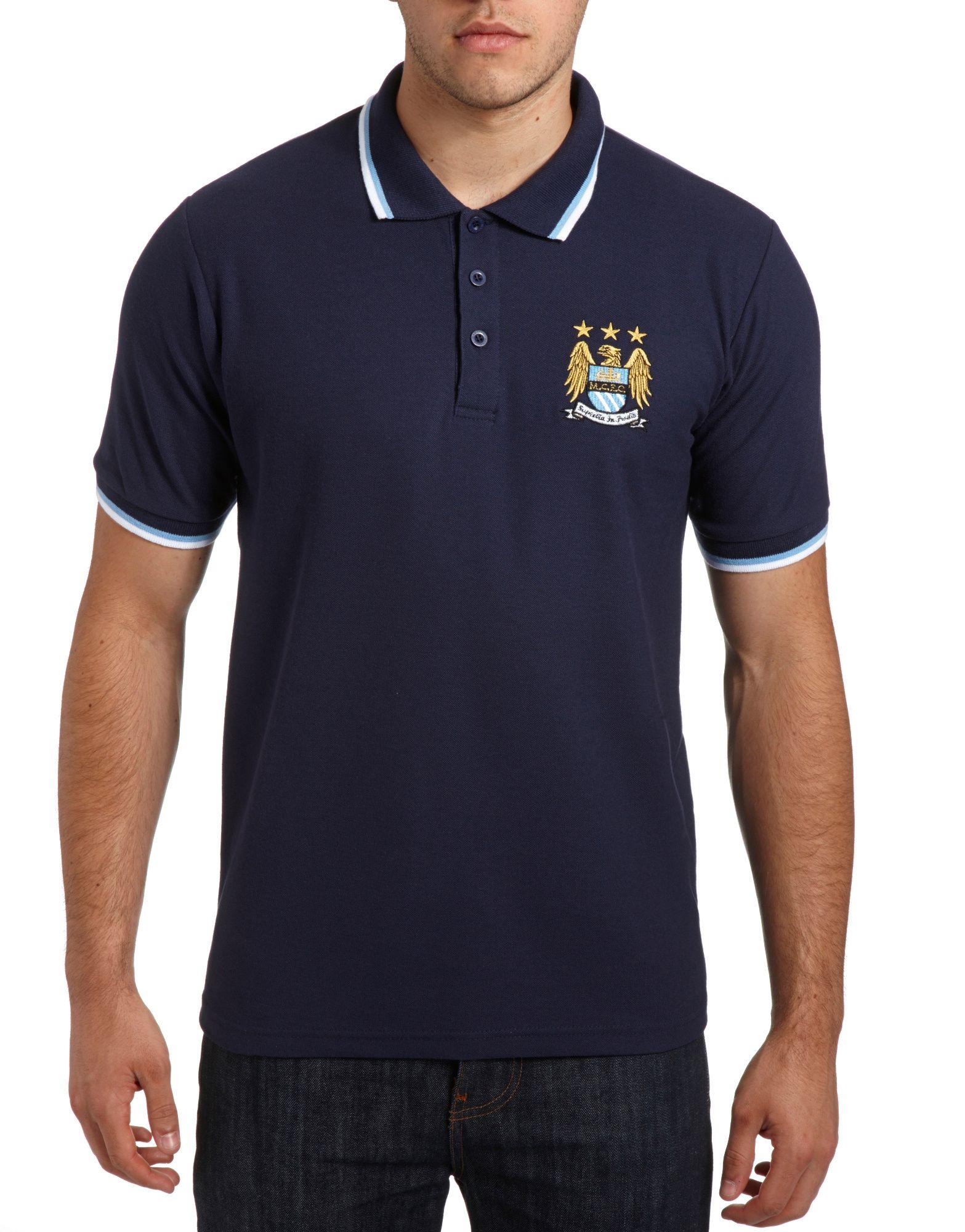 Official Team Manchester City Polo Shirt