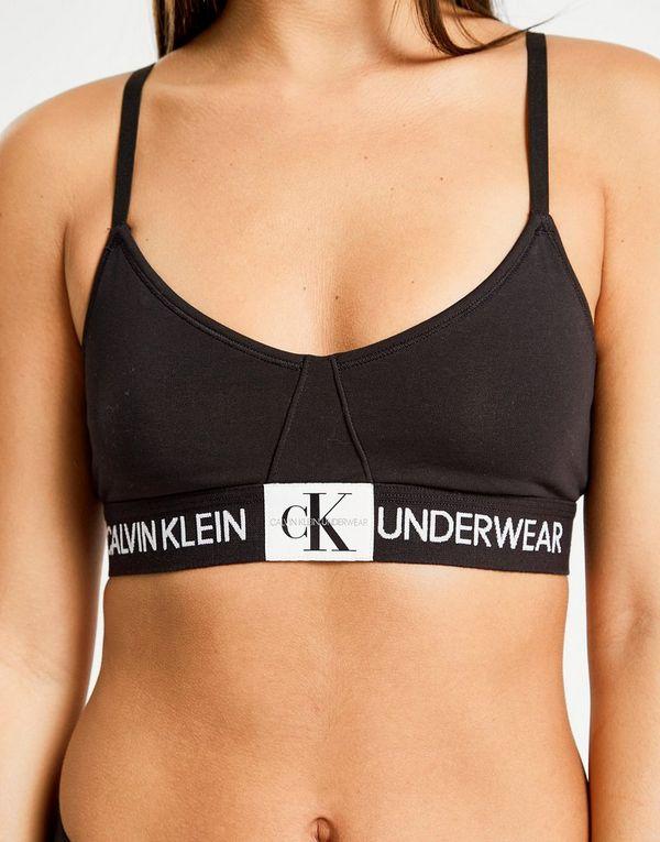 484baef330 Calvin Klein Underwear Monogram Triangle Bralette