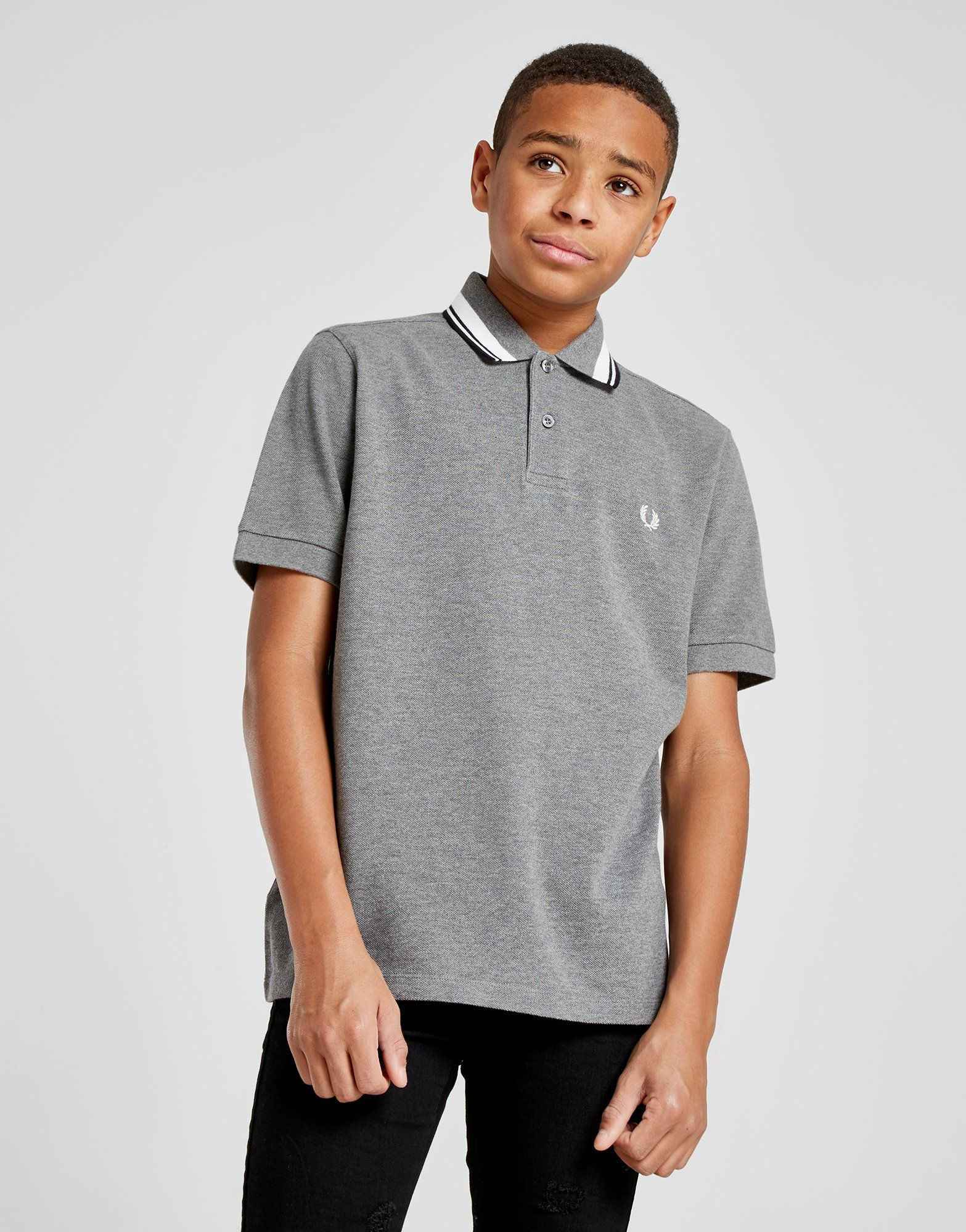 Fred Perry Twin Tip Polo Shirt Junior