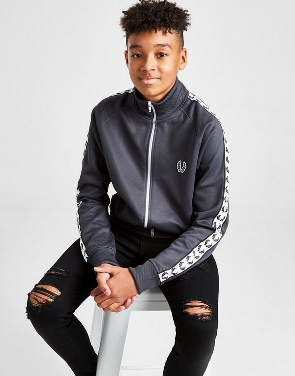 15b682b56c1 Fred Perry Taping Track Top Junior | JD Sports Ireland