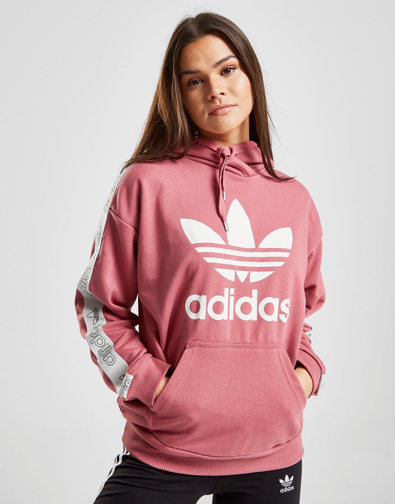 adidas Originals Tape Overhead Huppari Naiset  4bf5a98826