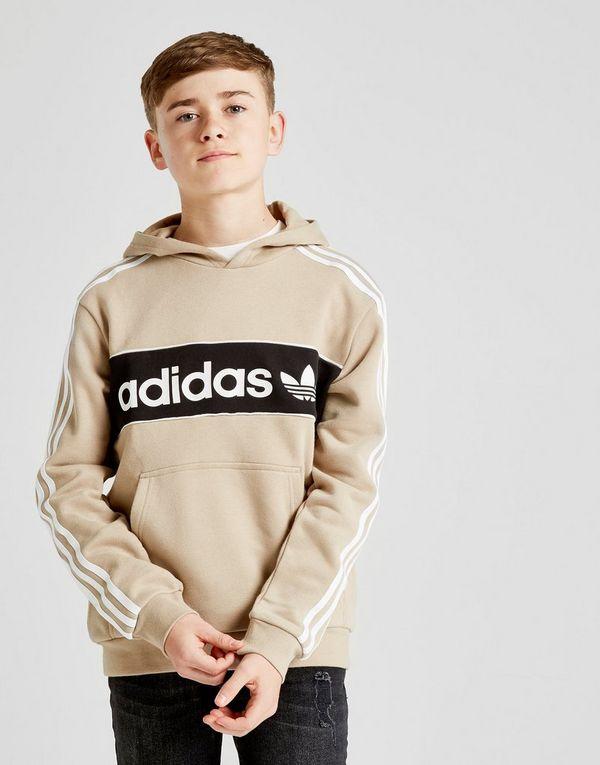 Fleece Adidas Hoodie Junior Jd Linear Overhead Sports Originals f4rg4E