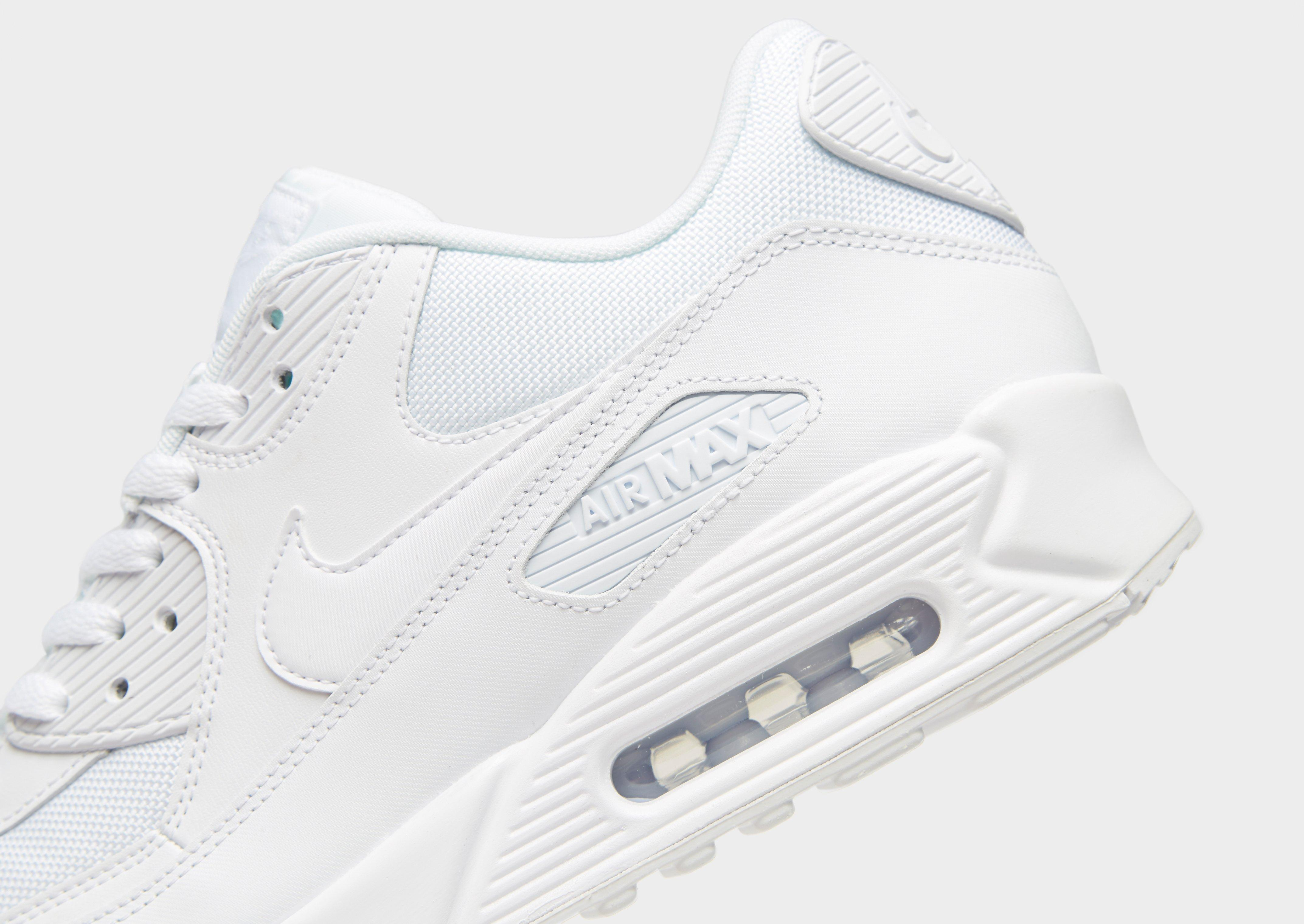 nike air max 90 in white