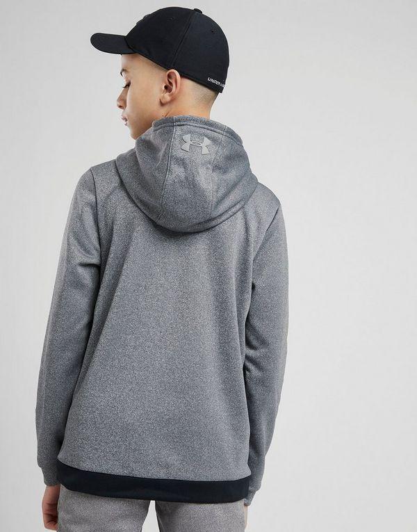 Under Armour Fleece-Kapuzenpullover mit durchgehendem Reißverschluss