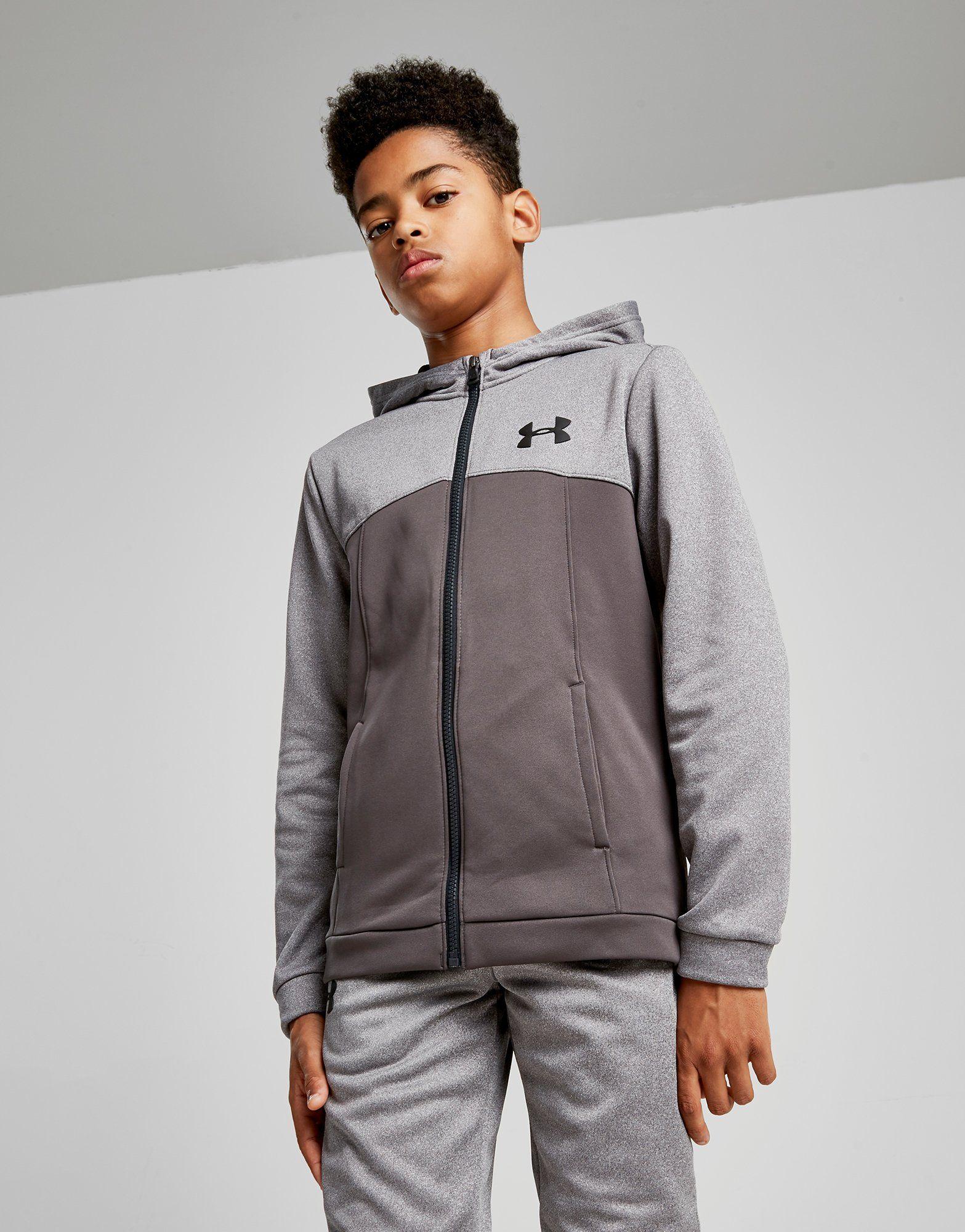 Under Armour Fleece Full Zip Poly Hoodie Junior